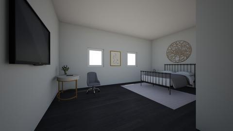 Modern bedroom - Modern - Bedroom  - by berkleykiolbassa