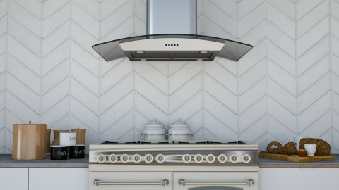 City Kitchen - Retro - Kitchen  - by deleted_1524503933_Architectural