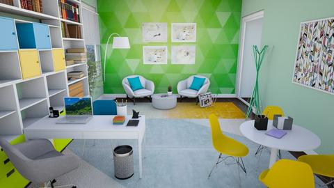 GYB Office  - Modern - Office  - by Nina Colin