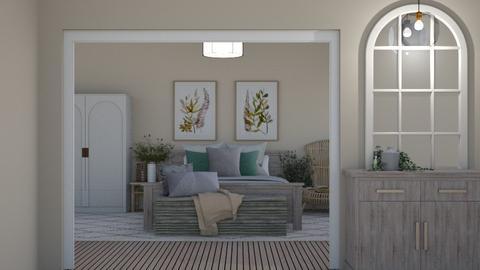 Organic Bedroom - Bedroom  - by MilksDaBunz