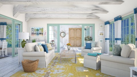 Bright  - Living room - by Lizzy0715
