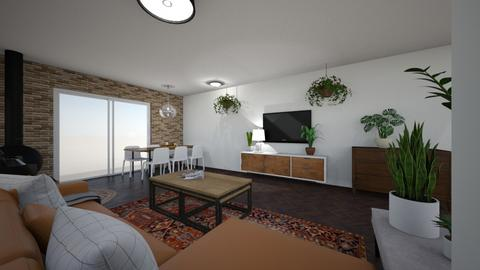 Limor W 22 - Living room  - by erlichroni