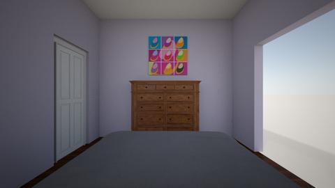 bedroom modern - by CPU Teacher