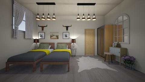 guest bedroom 4 - Bedroom - by GeGe Kanthip