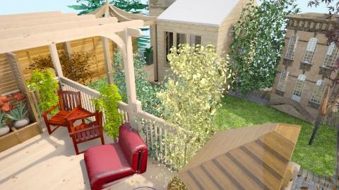 7ft wd grdn10 - Modern - Garden  - by Suzanne Hoskins