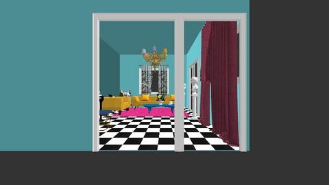 fm remodelacion kitsch  - Retro - Living room - by Sol Berenice