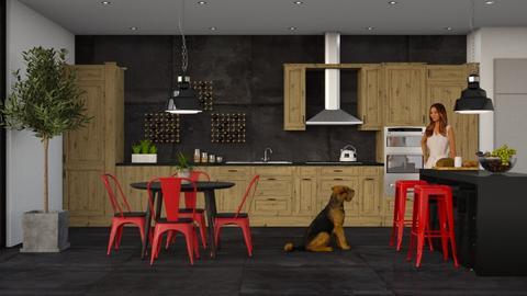 IP Artisan Kitchen - Eclectic - Kitchen - by Theadora