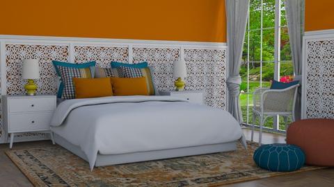 India colours - Bedroom  - by Tuija