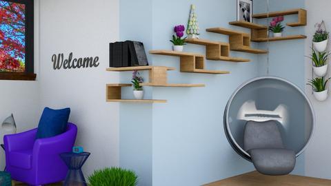 Shelves living room - Living room  - by Jahsoftball_