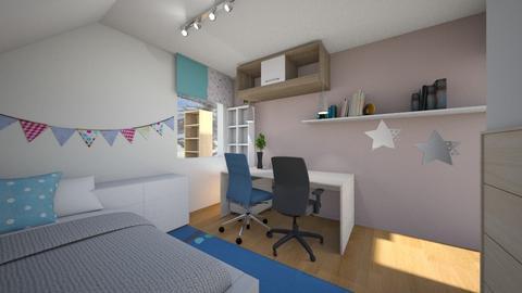 Anza - Kids room  - by L A Y S K A