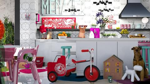 Mi Cocina - Kitchen - by LuzMa HL