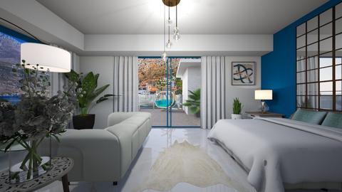 Modern Greek - Modern - Bedroom  - by Veny Mully