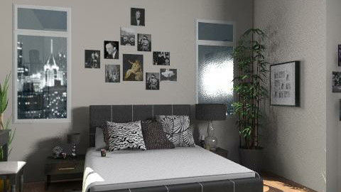 Universe - Eclectic - Bedroom  - by monikica