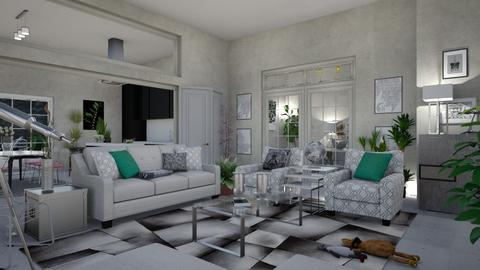 IN GRAY - Country - Living room - by matina1976