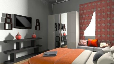 yellow_Mood - Retro - Bedroom  - by navjoy