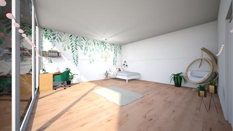 Plant Aesthetic Room - Bedroom  - by AM_POTAT