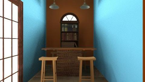 rustic - Rustic - Living room  - by taylortaylor