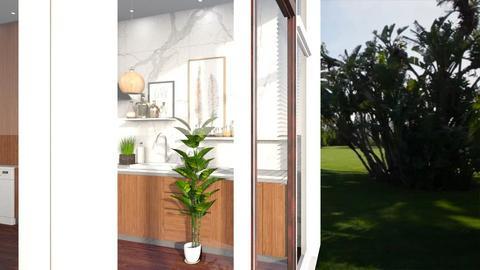 Plant kitchen - Modern - Dining room  - by Louisa caulton