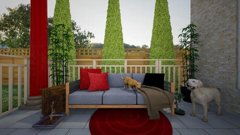 Outdoor Garden - Rustic - Garden  - by MiDesign