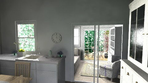 kitchen extension - Country - Kitchen  - by inglenook