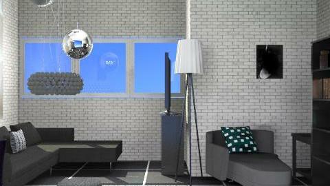 nero - Minimal - Living room  - by catcarla