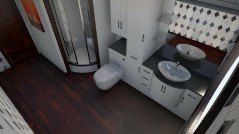 Nakagi Capsule Bath - Modern - Bathroom  - by HGranger2