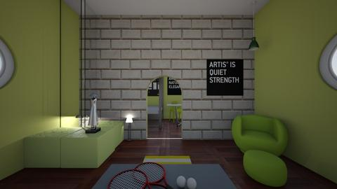 Tennis - Retro - Living room  - by N_t_Here