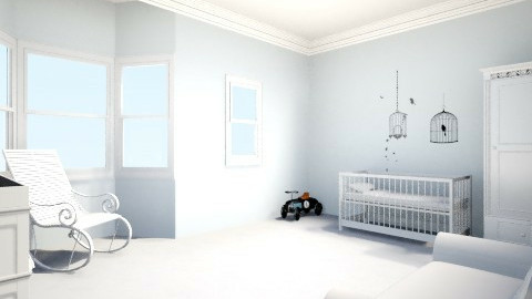 Baby Boy Nursery - Classic - Kids room  - by lucydfalzon