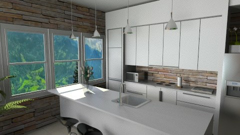 llhh - Classic - Kitchen  - by Ivana J