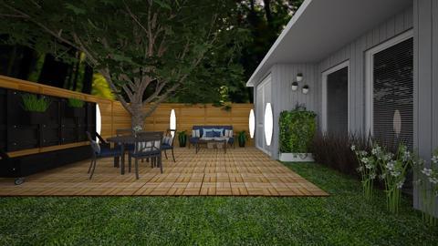 203 Garden Terrace - Garden  - by melu23