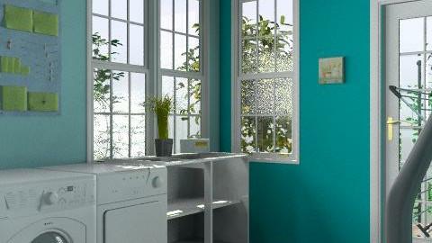 Laundry/Mud Room - Classic - by Jojo63