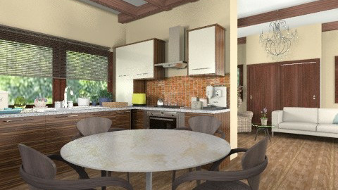 saarinen - Classic - Kitchen  - by malinda13