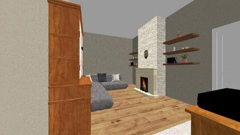 Living Room 1 - Rustic - Living room  - by greenwoodsarah2