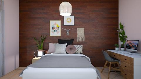 Modern Bedroom - Modern - Bedroom  - by Leire08