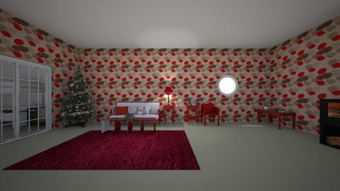 Operation Catch Santa - Living room  - by matildabeast