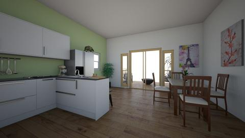 work in progress - Kitchen  - by ievameda_7