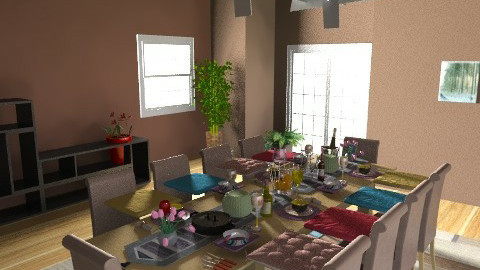sensi's room - Dining room - by magggie