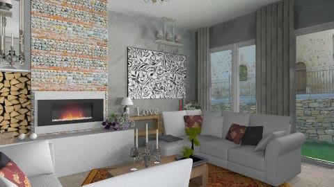 romance en provence - Classic - Living room  - by calu13