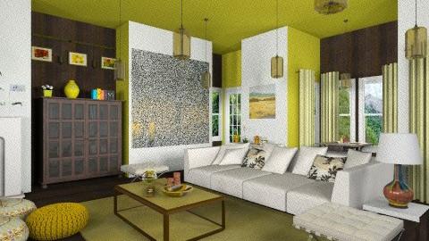 amarilla - Classic - Living room  - by ATELOIV87