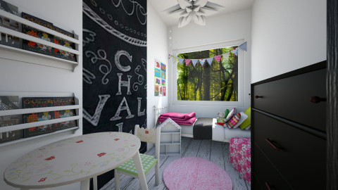 Ala bedroom - Bedroom - by agafrutek