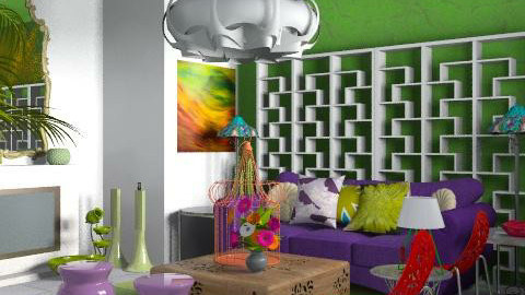 I live in colour - Eclectic - Living room - by carolinafer