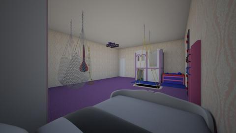cute girls bedroom - Kids room  - by interiordesign10100