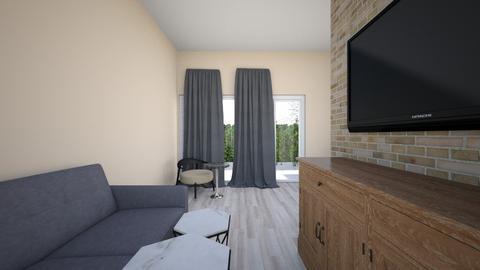 nha nho - Modern - Living room  - by nhitran