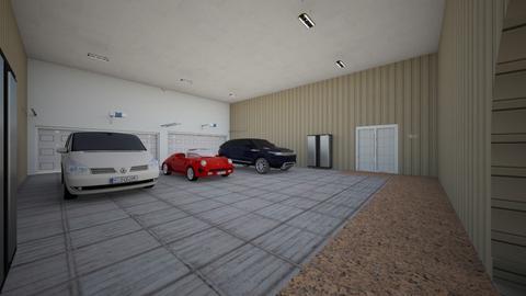 SpCy Mansion Garage - Modern - by alonatech_2nd