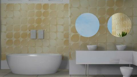 Platinum Gold - Eclectic - Bathroom - by channing4