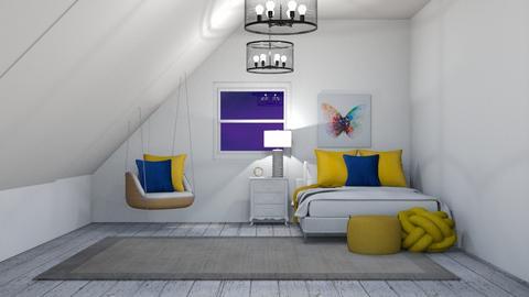 Contest 1_AnyaF - Bedroom  - by Anya F