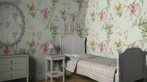 vintage bedroom - Vintage - Bedroom  - by rororo