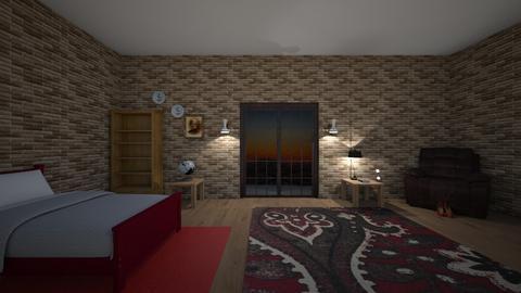 Hotel Transylvania room - Rustic - Bedroom  - by Miraculous_ladybug