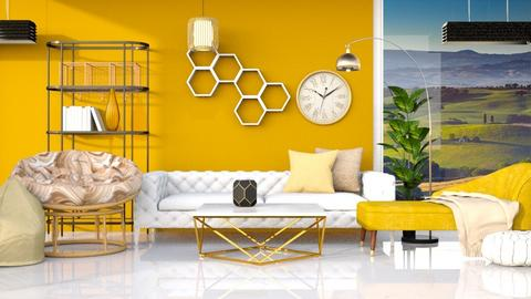 Beehouse Design - Living room  - by Parisrosali