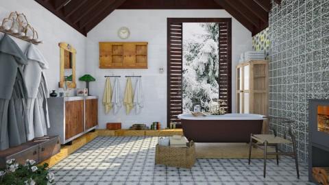 M_Vintage Broom - Bathroom  - by milyca8